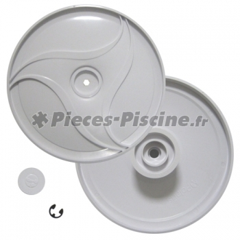 Roue cot roues jumelles polaris 380 pieces piscine for Robot piscine polaris 380