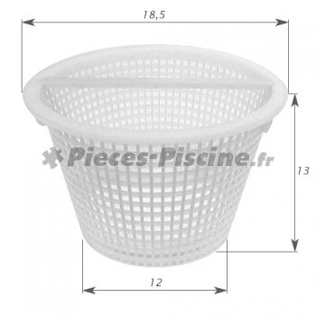 Panier avec anse skimmer cofies pieces piscine for Panier piscine filtre