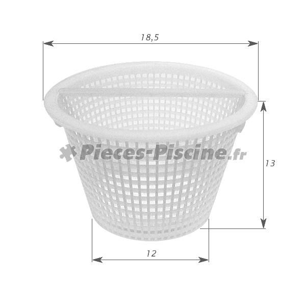 Panier avec anse skimmer cofies pieces piscine for Skimmer piscine design