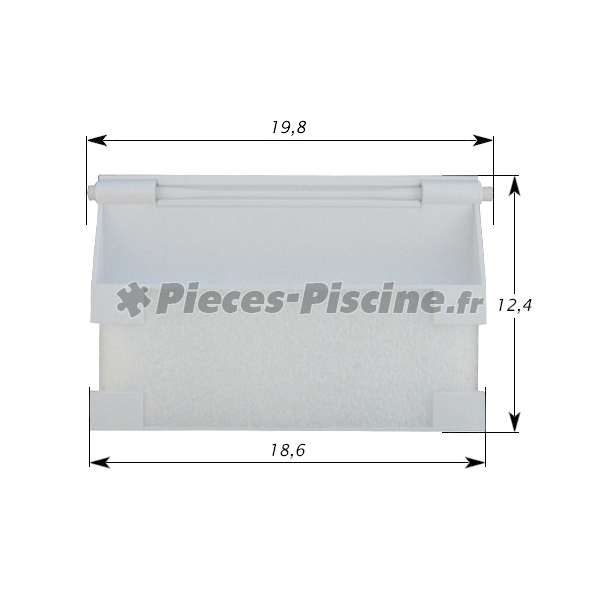 Volet skimmer cofies pieces piscine for Pieces pour skimmer piscine