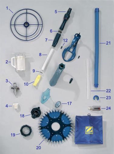 Pi ces robot baracuda g4 pieces piscine fr for Robot piscine baracuda