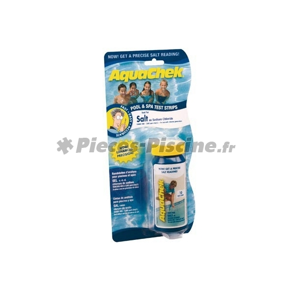aquachek sel pieces piscine