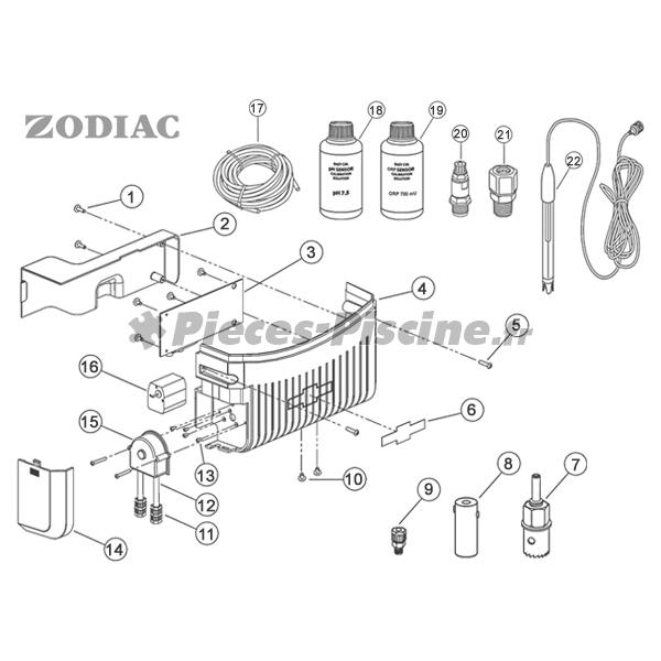 sonde ph zodiac pieces piscine. Black Bedroom Furniture Sets. Home Design Ideas
