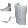 Cadre filtrant étroit HAYWARD PRO Grid 72 (91,5cm)