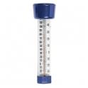Thermomètre flottant bleu