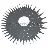Disque inferieur (Jupe) gris BARACUDA SUPER G+