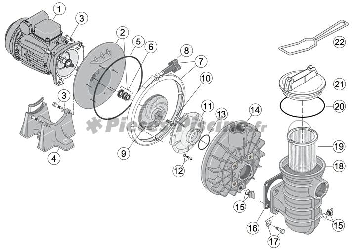 Condensateur 25 microf pour moteur atb de 1cv 1 5cv for Condensateur moteur piscine