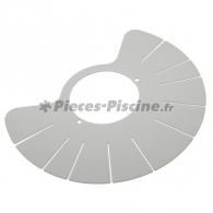 Demi disque supérieur gris BARACUDA SUPER G+