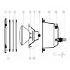 Vis (x20) pour bride projecteur Liner COFIES
