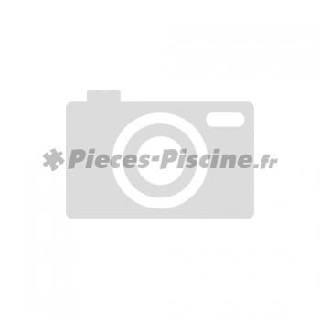 Grille plate + vis (x2) bonde de fond ASTRAL 210
