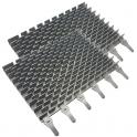 Brosses lamelles grises ZODIAC CyclonX (lot de 2)