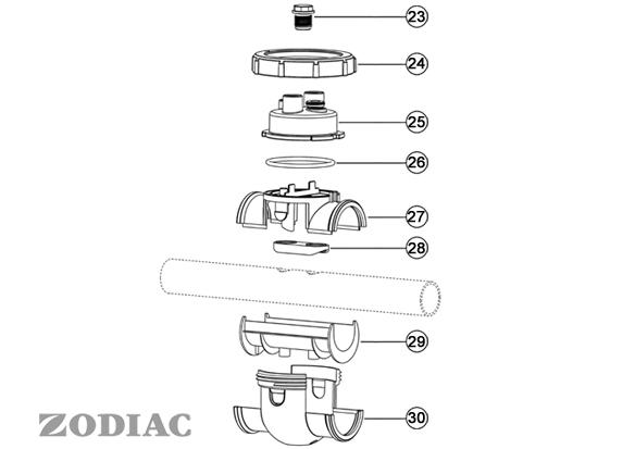 Pièces détachées ZODIAC Kit POD