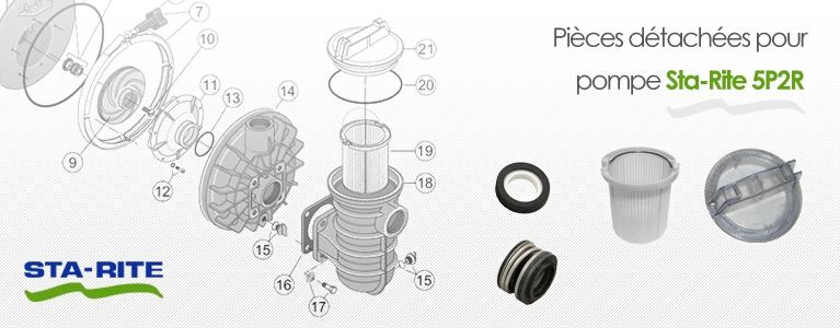 Pièces détachées pour pompe Sta-Rite 5p2r