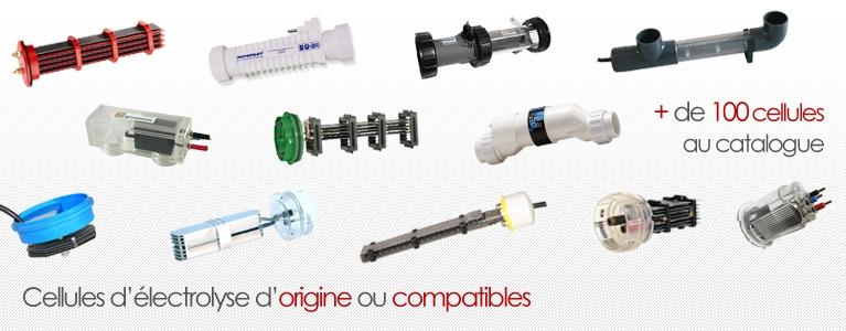Cellules d'électrolyse d'origine ou compatibles